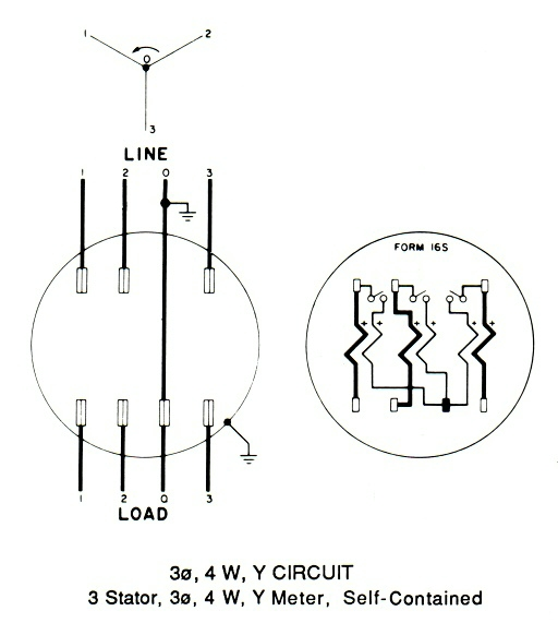 meter base wiring diagram  u2013 meter base with disconnect